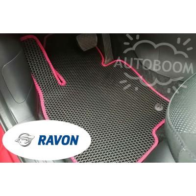 Автомобильные коврики EVA для Равон / Ravon (Соты)