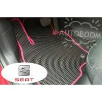 Автомобильные коврики EVA на Сеат / Seat (Соты)
