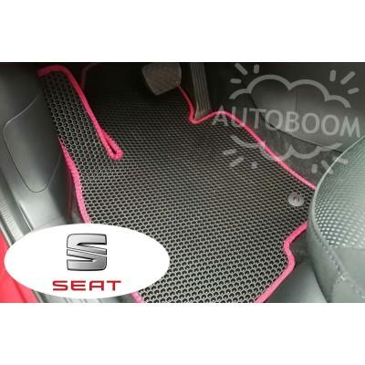 Автомобильные коврики EVA для Сеат / Seat (Соты)