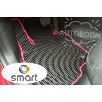 Автомобильные коврики EVA на Смарт / Smart (Соты)