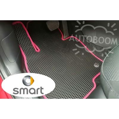 Автомобильные коврики EVA для Смарт / Smart (Соты)