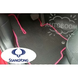 Автомобильные коврики EVA на Санг Йонг / SsangYong (Соты)