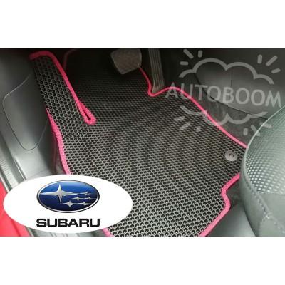 Автомобильные коврики EVA для Субару / Subaru (Соты)