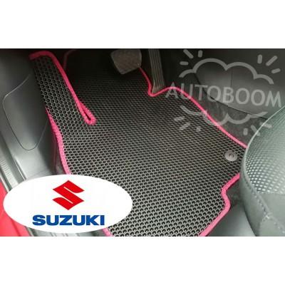 Автомобильные коврики EVA для Сузуки / Suzuki (Соты)