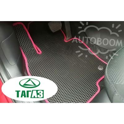 Автомобильные коврики EVA для ТагАЗ (Соты)