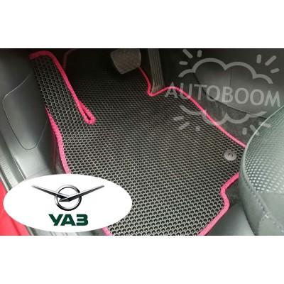 Автомобильные коврики EVA для УАЗ (Соты)