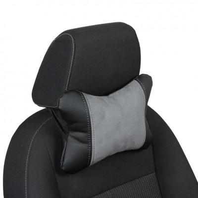 Автомобильные подушки под шею из алькантары