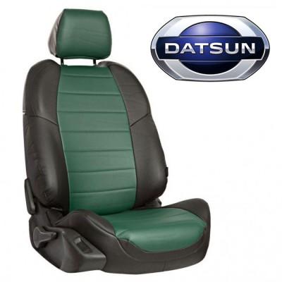Чехлы на сиденья из экокожи для Datsun