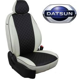 Авточехлы для Datsun - Экокожа Ромб