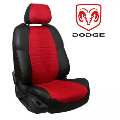 Чехлы на сиденья из алькантары для Dodge