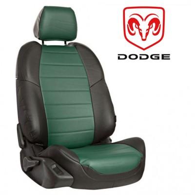 Чехлы на сиденья из экокожи для Dodge