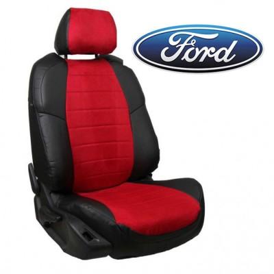 Чехлы на сиденья из алькантары для Ford