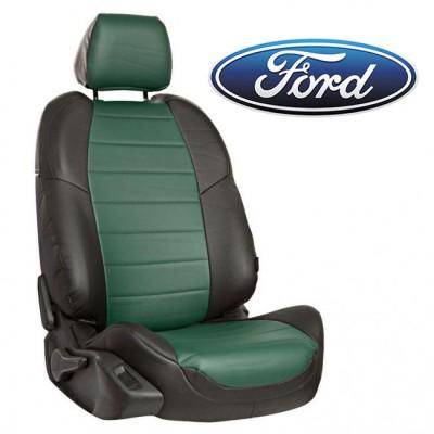 Чехлы на сиденья из экокожи для Ford