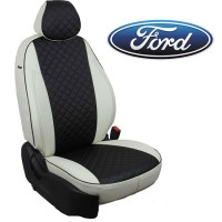 Авточехлы для Ford - Экокожа Ромб