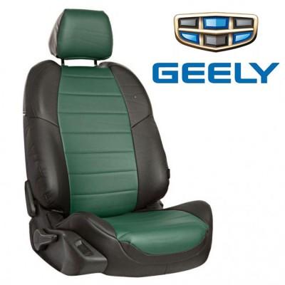 Чехлы на сиденья из экокожи для Geely