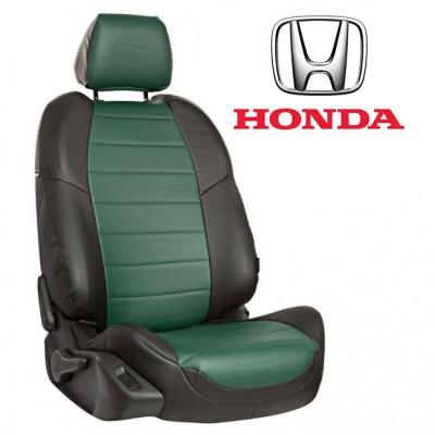 Чехлы на сиденья из экокожи для Honda
