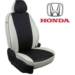 Авточехлы для Honda - Экокожа Ромб