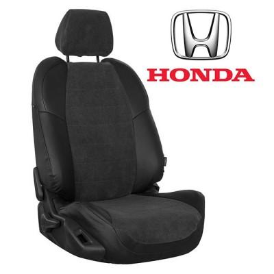 Чехлы на сиденья из велюра для Honda