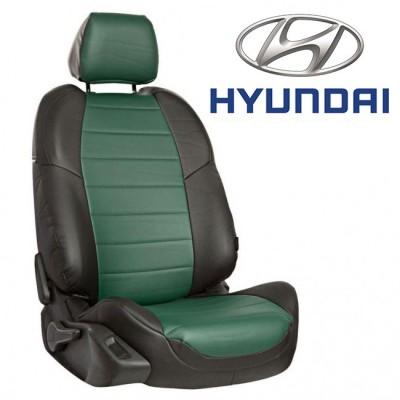 Чехлы на сиденья из экокожи для Hyundai