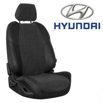Чехлы на сиденья из велюра для Hyundai