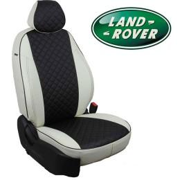 Авточехлы для Land Rover - Экокожа Ромб