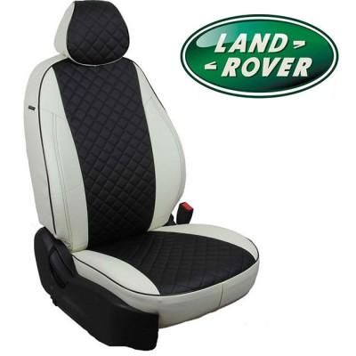 Чехлы на сиденья из экокожи Ромб для Land Rover