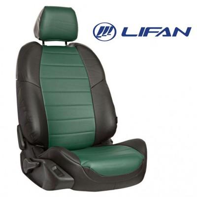 Чехлы на сиденья из экокожи для Lifan