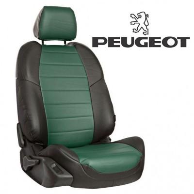 Чехлы на сиденья из экокожи для Peugeot