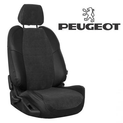 Чехлы на сиденья из велюра для Peugeot