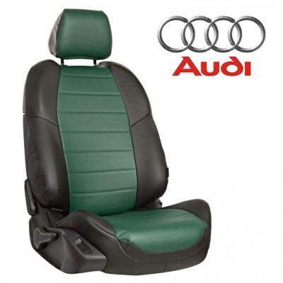 Чехлы на сиденья из экокожи для Audi