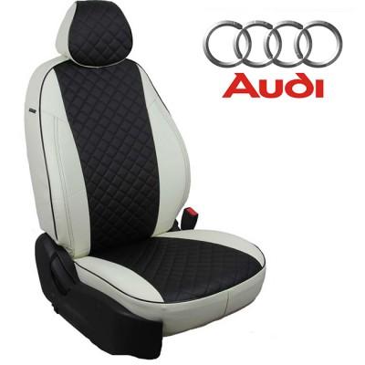 Чехлы на сиденья из экокожи Ромб для Audi