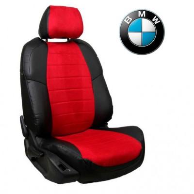 Чехлы на сиденья из алькантары для BMW