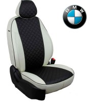 Чехлы на сиденья для BMW - Экокожа Ромб