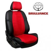 Чехлы на сиденья для Brilliance - Алькантара