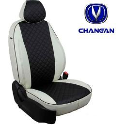 Чехлы на сиденья для Changan - Экокожа Ромб