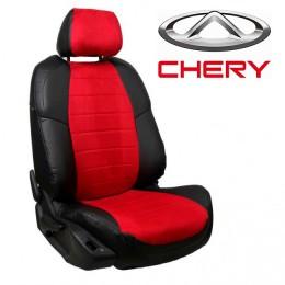 Чехлы на сиденья для Chery - Алькантара