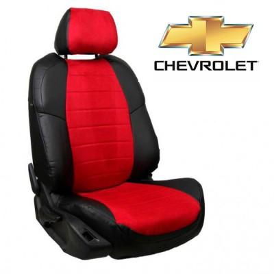Чехлы на сиденья из алькантары для Chevrolet