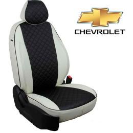 Чехлы на сиденья для Chevrolet - Экокожа Ромб