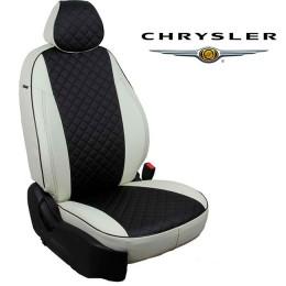 Чехлы на сиденья для Chrysler - Экокожа Ромб