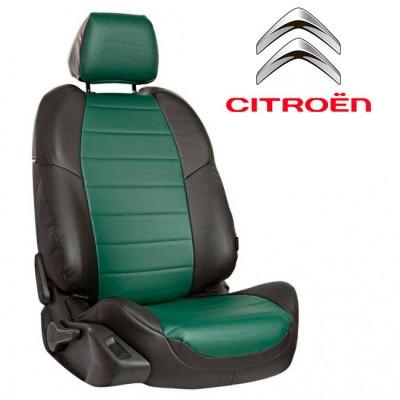 Чехлы на сиденья из экокожи для Citroen