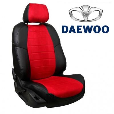 Чехлы на сиденья из алькантары для Daewoo
