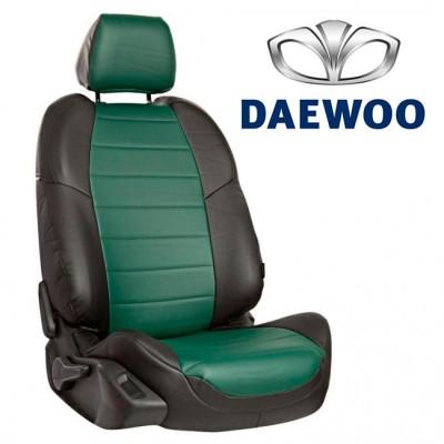 Чехлы на сиденья из экокожи для Daewoo