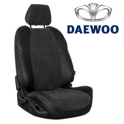 Чехлы на сиденья из велюра для Daewoo