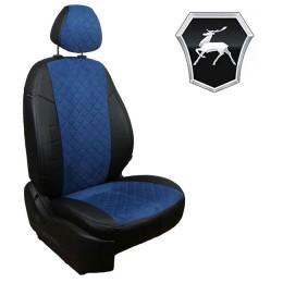 Авточехлы для ГАЗ - Алькантара Ромб