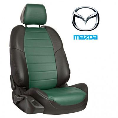 Чехлы на сиденья из экокожи для Mazda