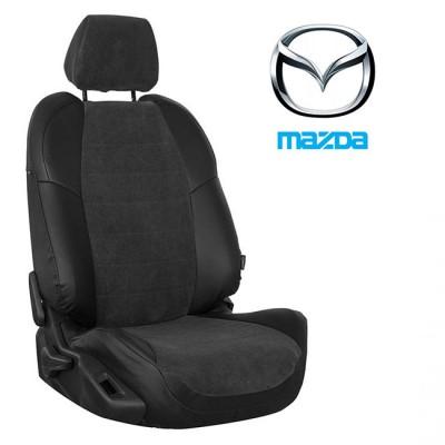 Чехлы на сиденья из велюра для Mazda