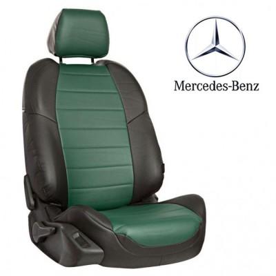 Чехлы на сиденья из экокожи для Mercedes