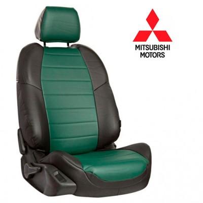 Чехлы на сиденья из экокожи для Mitsubishi