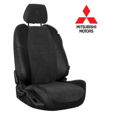 Чехлы на сиденья из велюра для Mitsubishi
