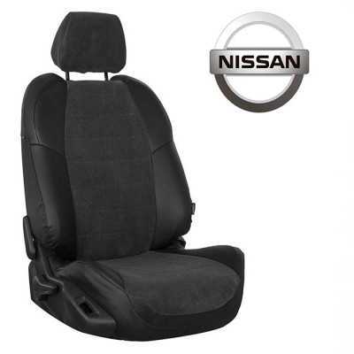 Чехлы на сиденья из велюра для Nissan